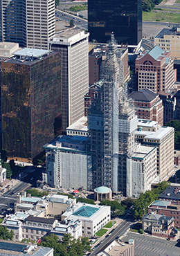 renovation of the Travelers Tower