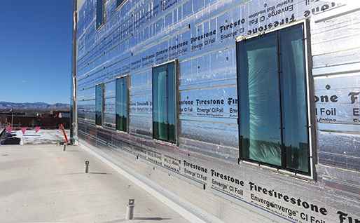 Firestone Building Products Enverge CI Foil Exterior Wall Insulation