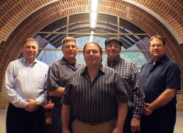 The Scabilloni brothers – Paul, Dan, Sammy, Matt, and Alan