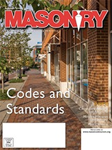 Masonry September cover