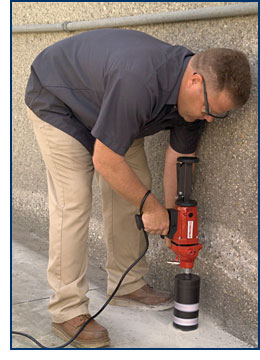 Multiquip's Handheld Core Drill