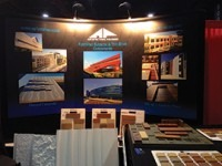 Architectural Polymers showcased Formliner Systems and Thin Brick Components.