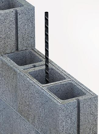 joint reinforcement less is more masonry magazine rh masonrymagazine com Decorative Cement Block Wall Cement Block Wall Calculator