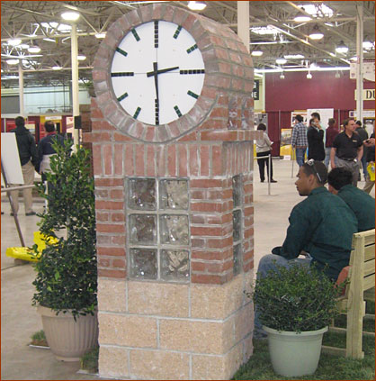 People's Choice: C.S. Monroe Vocational Training Center/Hayes Large Architects — Town Clock