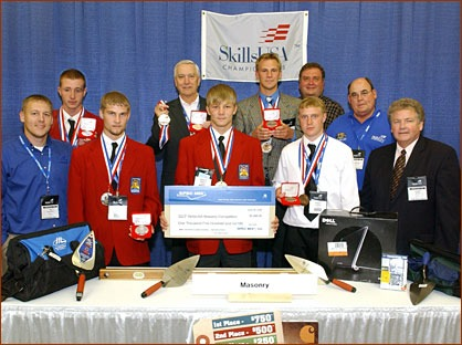 Winners of the 2008 National Masonry Contest