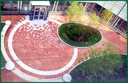 Northeastern University campus entryway
