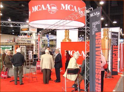 MCAA's booth