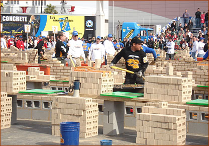 SPEC MIX Bricklayer 500 contest