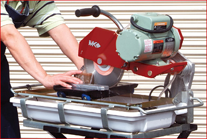Mk 1080 Wet Cutting Brick Saw