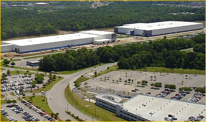Vought Aircraft Industries and Global Aeronautica Manufacturing Complex in North Charleston, S.C..