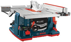 GTS1041A REAXX Portable Jobsite Table Saw
