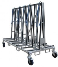 Large Double Sided Transport A Frame Racks