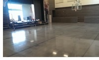 polished concrete flooring system