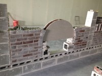 Student project: The construction of a brick arch