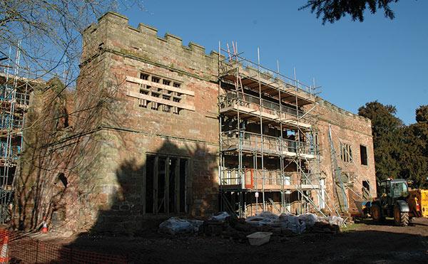 Cintec Technology Aids in Restoration of Award-Winning 12th-Century Castle