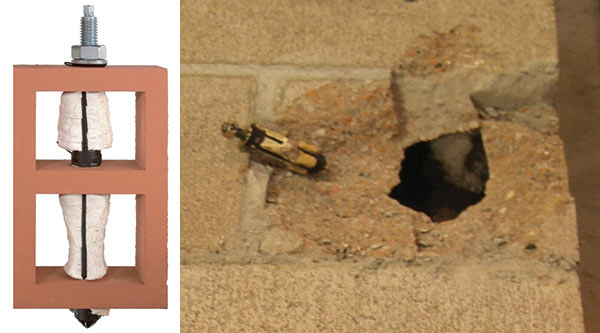 An Introduction To Embedded Fasteners In Masonry Masonry