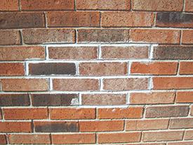 Before proven masonry staining.