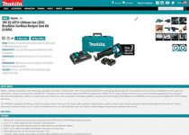 New Makita Website Goes Live