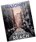 masonry magazine advertising information