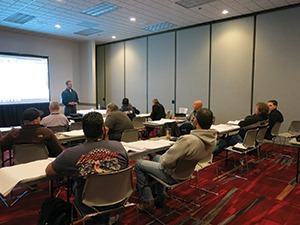 Bill Lula of Masonry Estimating Service taught the Advanced Masonry Estimating Class during WOC 2016.