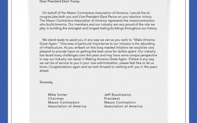 A Letter To President-Elect Donald J. Trump