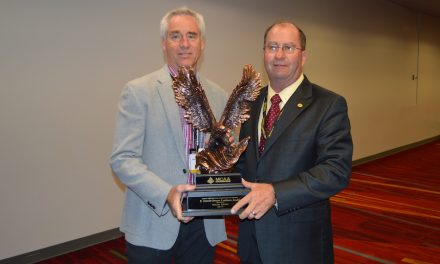 Mark Kemp Awarded C. Dewitt Brown Leadman Award