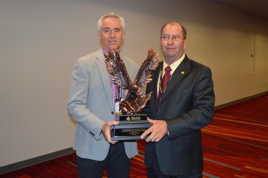 Mark Kemp Awarded C. Dewitt Brown Leadman Award