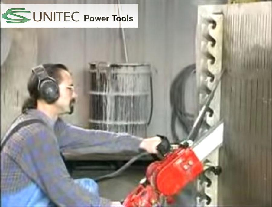 CS-Unitec- Concrete Chainsaw Demonstration