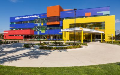 Playful Masonry: The LEGO-Inspired Children's Hospital of Troy, Michigan