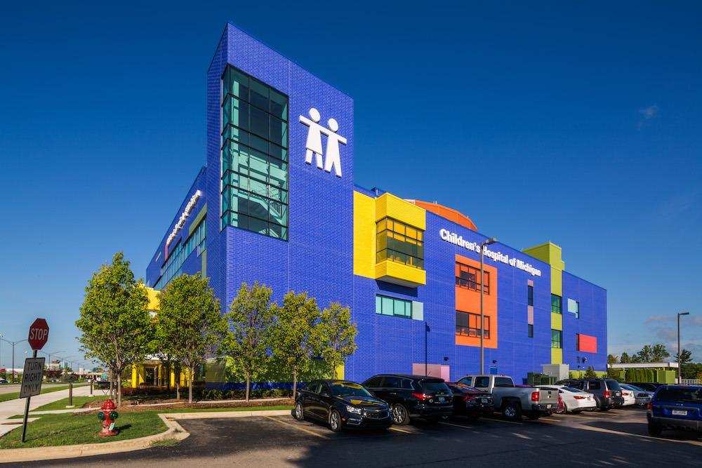 Playful Masonry: The LEGO-Inspired Children's Hospital of ...
