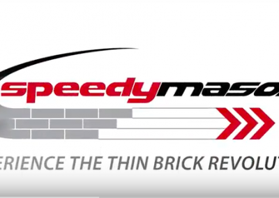 Installing Thin Brick with Speedymason