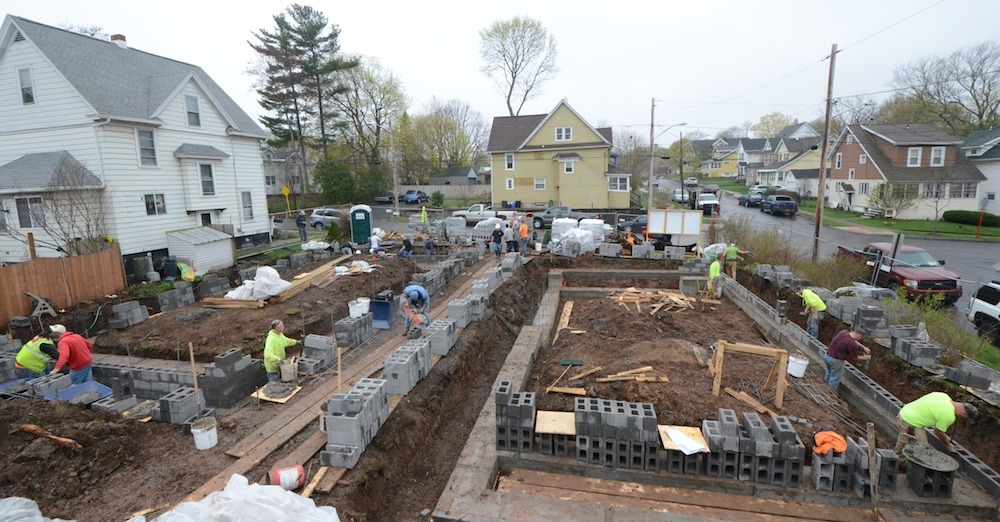 Masonry Gives Back: Upstate NYC Chapter and Habitat for Humanity Collaboration