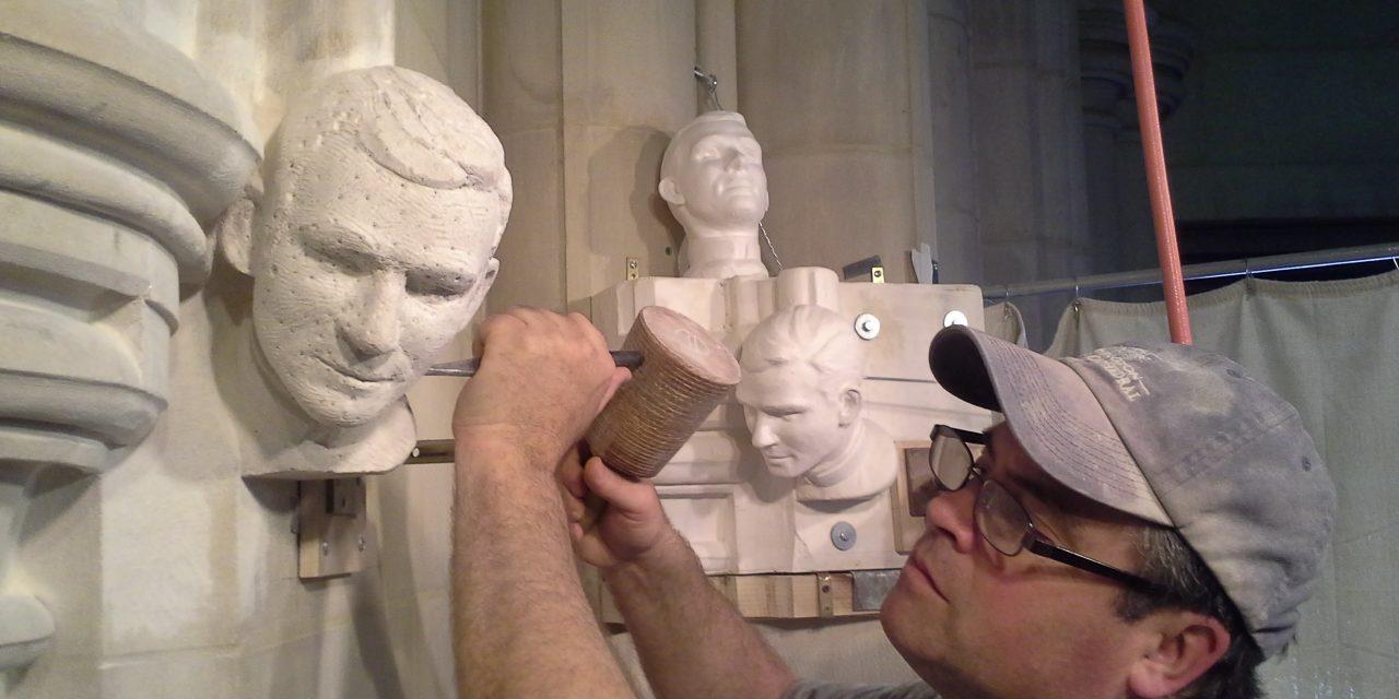 Stone Carving at Washington National Cathedral