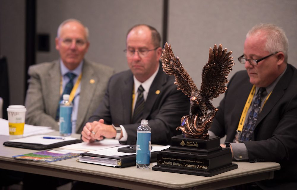 Brian Carney and John Blair Awarded C. Dewitt Brown Leadman Award